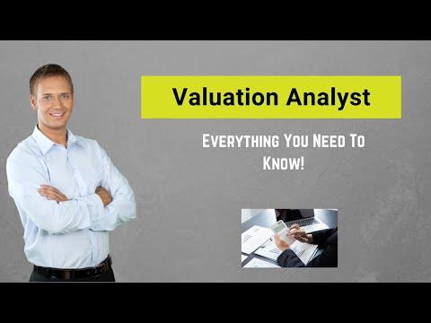 Valuation Analyst | Responsibility | Skills |  Salary