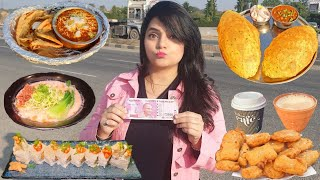Living on Rs 2000 for 24 HOURS Challenge | Food Challenge