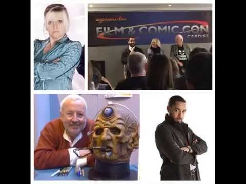 Doctor Who Panel  Camille Coduri, Samuel Anderson & Terry Molloy  CFCC 220315