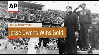 Jesse Owens Wins Olympic Gold - 1936 | Today In History | 4 Aug 17
