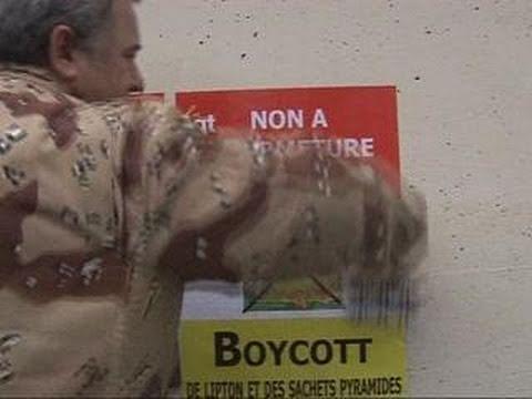 Thumbnail for Les salariés de Fralib appellent au boycott