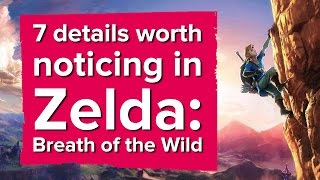 7 details worth noticing in Zelda: Breath of the Wild - The Eurogamer Show thumbnail
