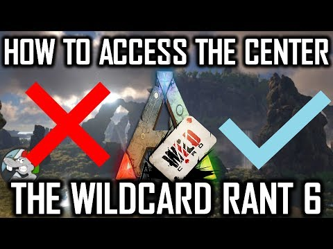 Ark How To Unlock Center / Use New Admin Box (New Update) Plus Wildcard Rant 6
