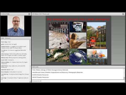 Miami Heritage Responders Webinar #4: Photograph and Electronic Media Salvage