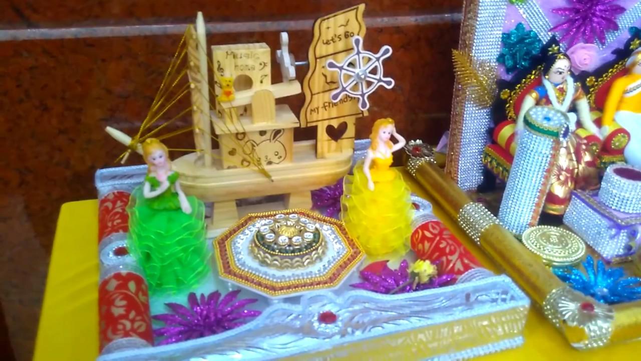 Decorative Aarthi Plates for Wedding in Chennai - YouTube