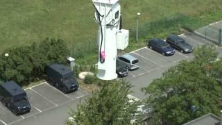 Weather radar installation in Jabbeke 06/2012