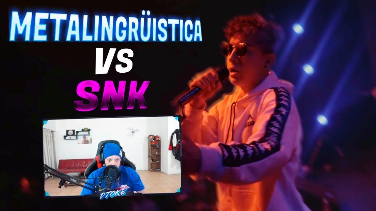 DTOKE REACCIONA A METALINGUISTICA VS SNK