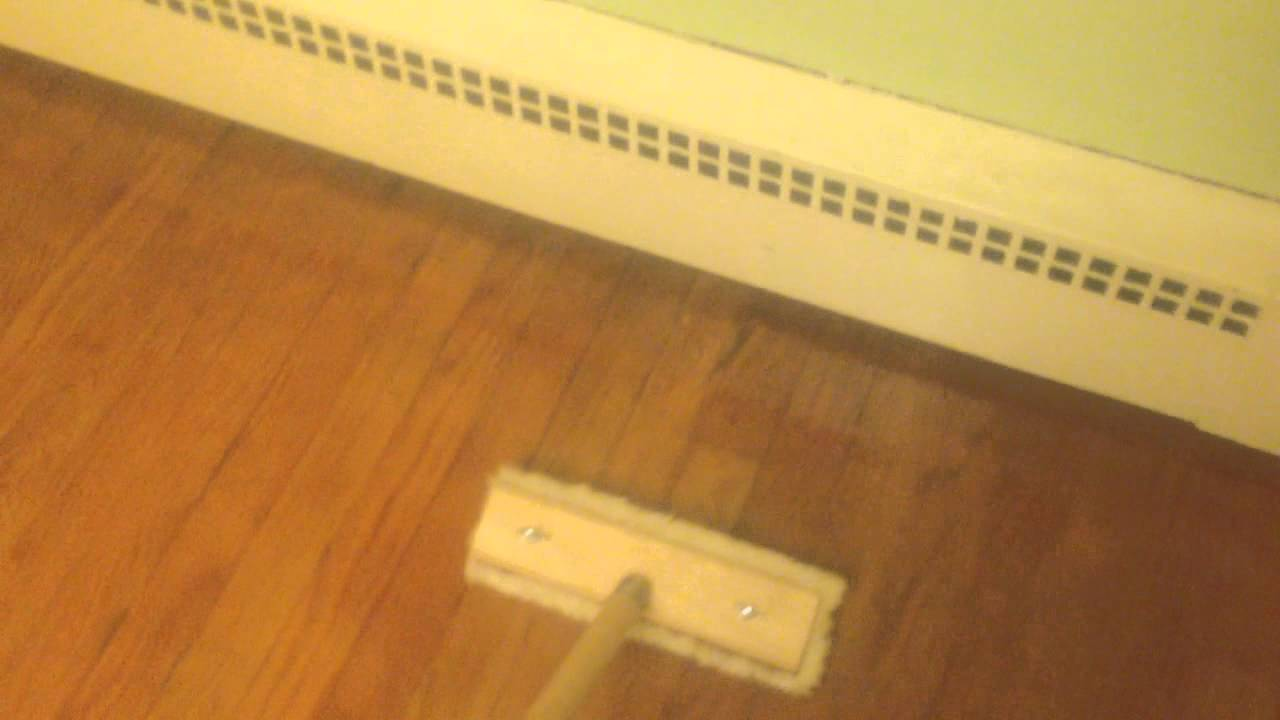 How To Refinish A Wood Floor For Under $50   YouTube