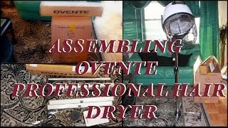 ASSEMBLING | Ovente Professional Hair Dryer w/Stand