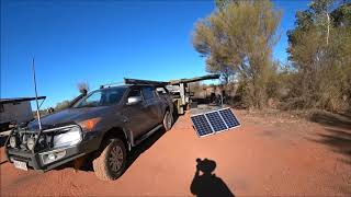 Central Australia Camping Trip Part 5.  Curtain Springs Station to Uluru