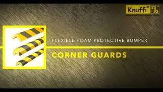 Ideal Warehouse Innovations Knuffi Flexible Foam Protective Bumper Corner Guards