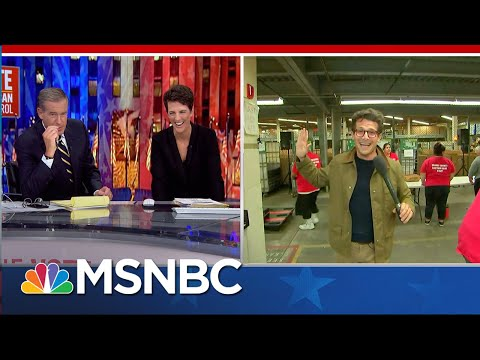 This is chasing democracy, one ballot at a time. | Jacob Soboroff | MSNBC