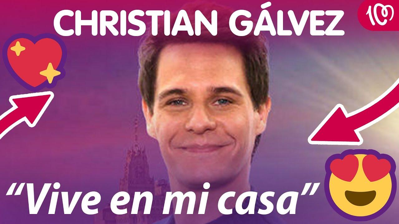"""La emotiva declaración de amor de Christian Gálvez: """"Me salvaste"""""""