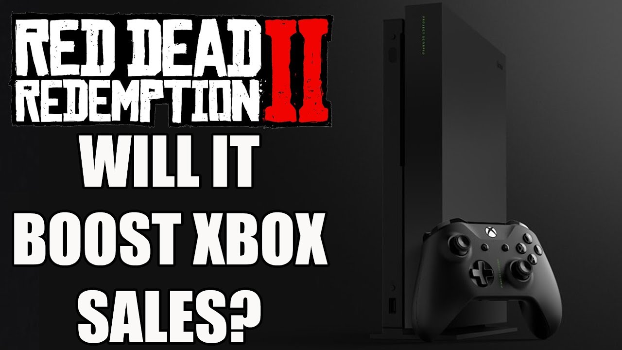 Red Dead Redemption 2 - Will Native 4K Support And A $100 Deal Boost Xbox  One X And Xbox One Sales?