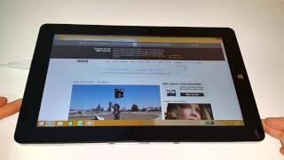 chuwi Vi10. Dual OS Windows & Android. Видео обзор