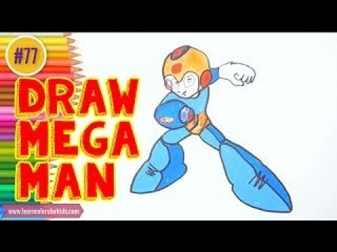 Drawing Tutorials: How to draw Megaman characters step by step #77