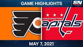 NHL Game Highlights | Flyers vs. Capitals - May 7, 2021