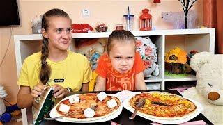 Квест Челлендж от ПАПЫ/ Пицца Челлендж/ Pizza Challenge.