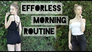 Fast Effortless Morning Routine Life Hacks! Get Ready in 20min! + GIVEAWAY!!