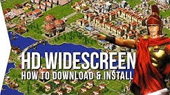 How To Download/Install Widescreen HD Mod for Caesar 3, Pharaoh, Zeus, & Emperor!
