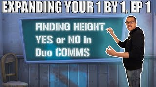 Finding High Ground, Saying YES or NO in Duo Commmunication - Expanding your 1 by 1 #1