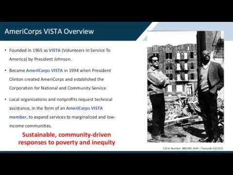 AmeriCorps VISTA Virtual Information Session