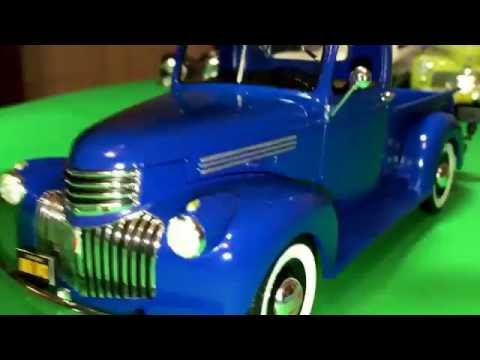 Plastic Model Kit Review: 1941 Chevrolet Pickup by Revell in 1/25 scale