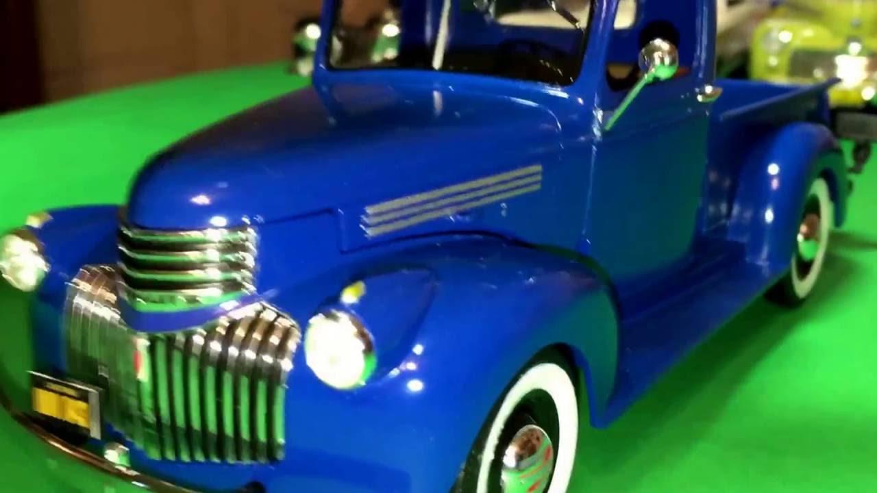 Pickup 41 chevy pickup : Plastic Model Kit Review: 1941 Chevrolet Pickup by Revell in 1/25 ...