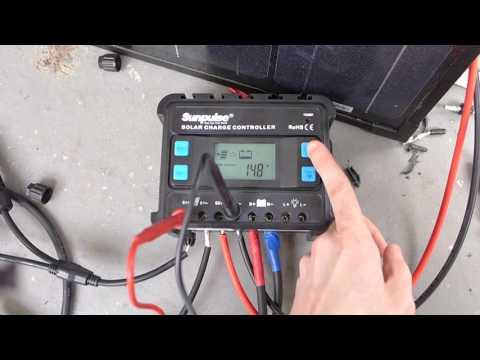 Mppt M10 Solar Charge Controller Laderegler Auseinander