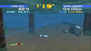 Sega Bass Fishing - Xbox Live Arcade Gameplay HD