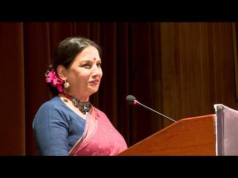Shabana Azmi recites Muztar Khairabadi's poetry (ilaaj-e-dard-e-dil tumse maseeha ho nahin sakta )