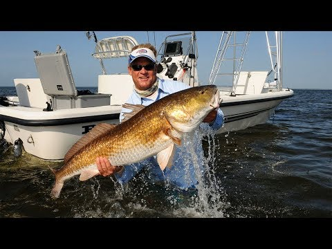 Bull Red Fishing with Popping Corks on the Neuse River North Carolina