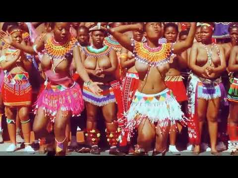 African dance festival Kwazulu dancers 2018