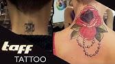 Dekoltee tattoo frau