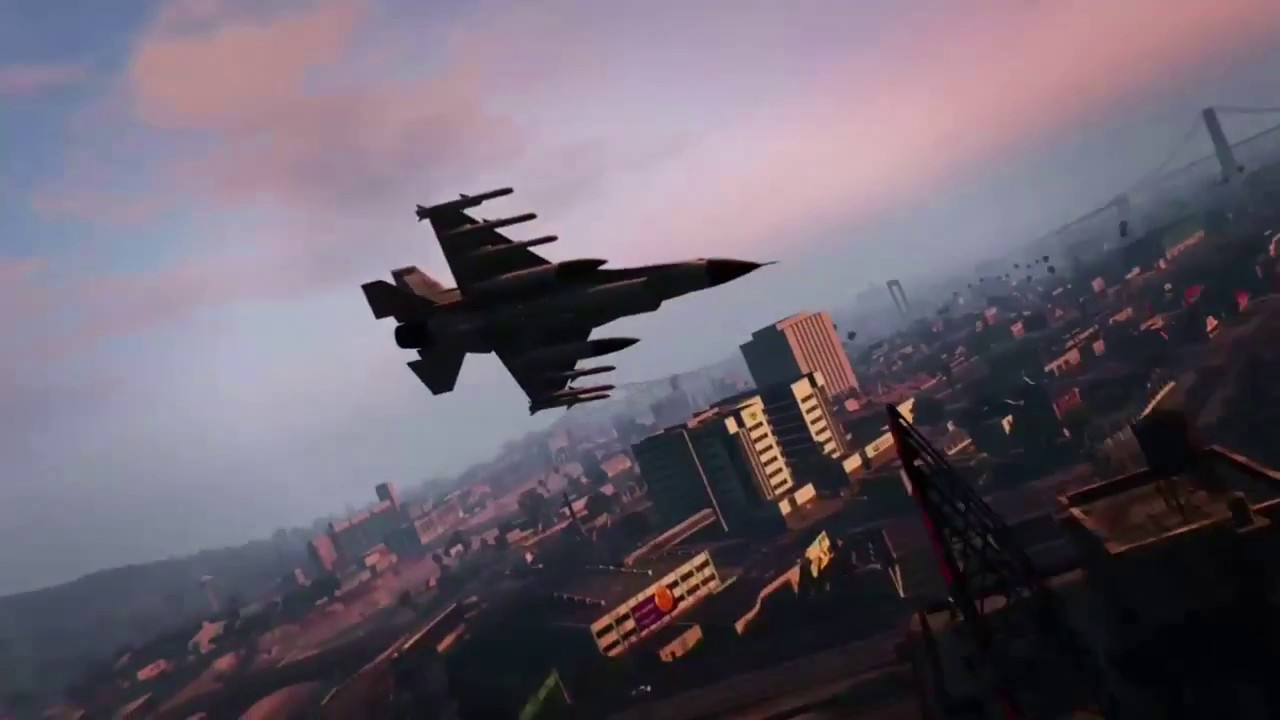 Jet Privato Gta 5 : Quot gta online jet backwards kills and dogfight youtube
