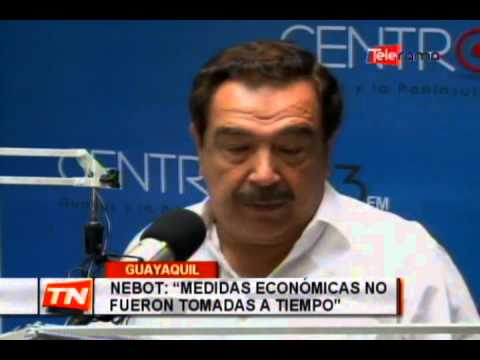 Nebot aclara que saludo con Correa no cambia ideología política