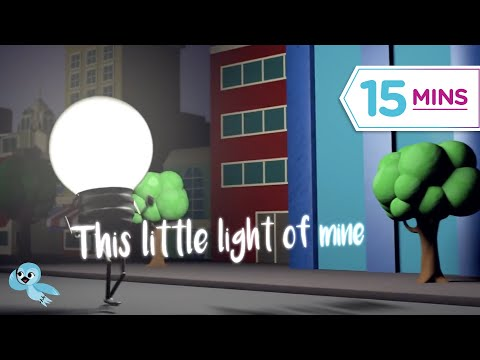 Sunday School video! Let It Shine_This Little Light of Mine and MORE!