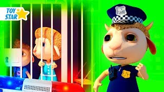 New 3D Cartoon For Kids  Dolly And Friends  Kids Police Jail Playhouse Toy 83