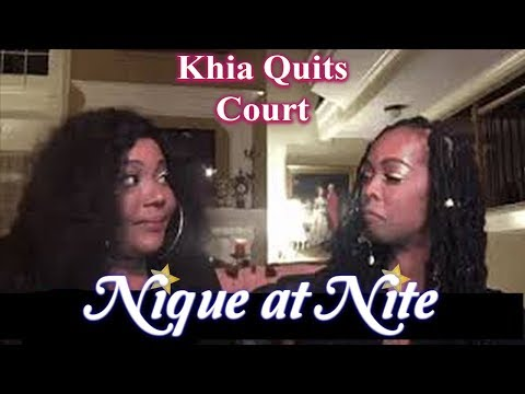 Khia QUIT The Queens Court Both throw more shade