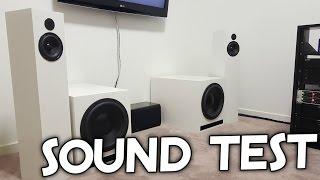 SOUND QUALITY TEST OF MY SYSTEM!