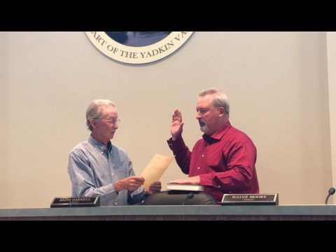 Michael Pardue New Jonesville Town Manager
