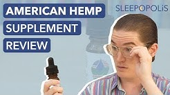 American Hemp Oil CBD Review - What are the Benefits of CBD?