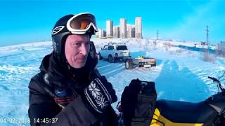 Обзор снегохода TIKSY 250 ЛЮКС