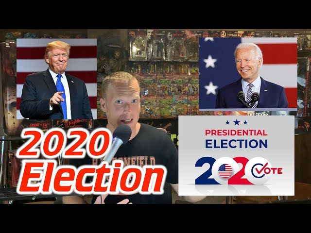 Election Day 2020 – Vegas Odds & My Take (Wise Eats Podcast Clip from Episode 29)