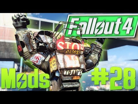 Fallout 4 Mods: SIRIUS Assault Suit & Best Raider Power Armor Mod, Face Tattoos & Anime Paintings