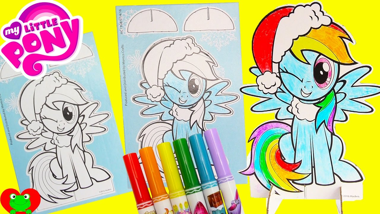 Christmas Coloring Projects Christmas Coloring Crafts Tree Shape ...