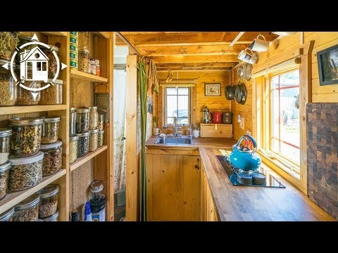 Married Couple Downsizes and Builds Gorgeous Tiny House