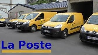 La Poste France fährt CITROËN - französische Postautos - french post drives Citroen cars