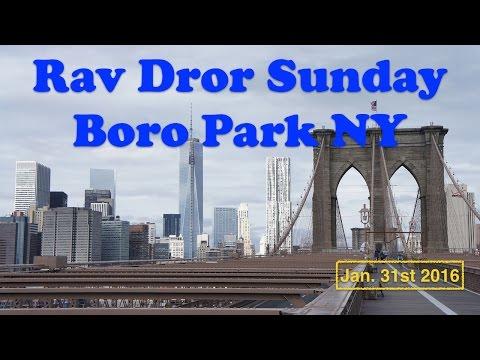 Sunday   Boro Park NY   Jan 31st 2016
