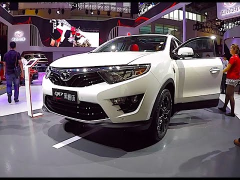 New 2017 Crossover Mitsubishi DX7, soueast auto 2018